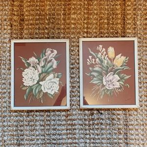 Vintage • Floral Botanical Framed Art